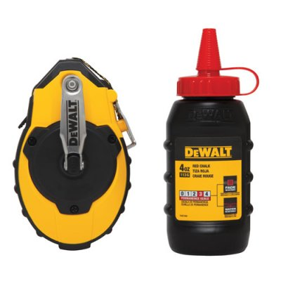 Dewalt Chalk Reel Amp Kit Red Maxwell Supply Of Oklahoma